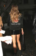 CHARLOTTE MCKINNEY at Chateau Marmont in Los Angeles 12/04/2017