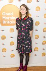 CHARLOTTE RITCHIE at Good Morning Britain in London 12/21/2017
