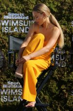 CHASE CARTER at Sports Illustrated Swimsuit Island at W Hotel in Miami 12/07/2017