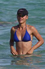 CHASE CARTER in Bikini at a Beach in Miami 12/26/2017