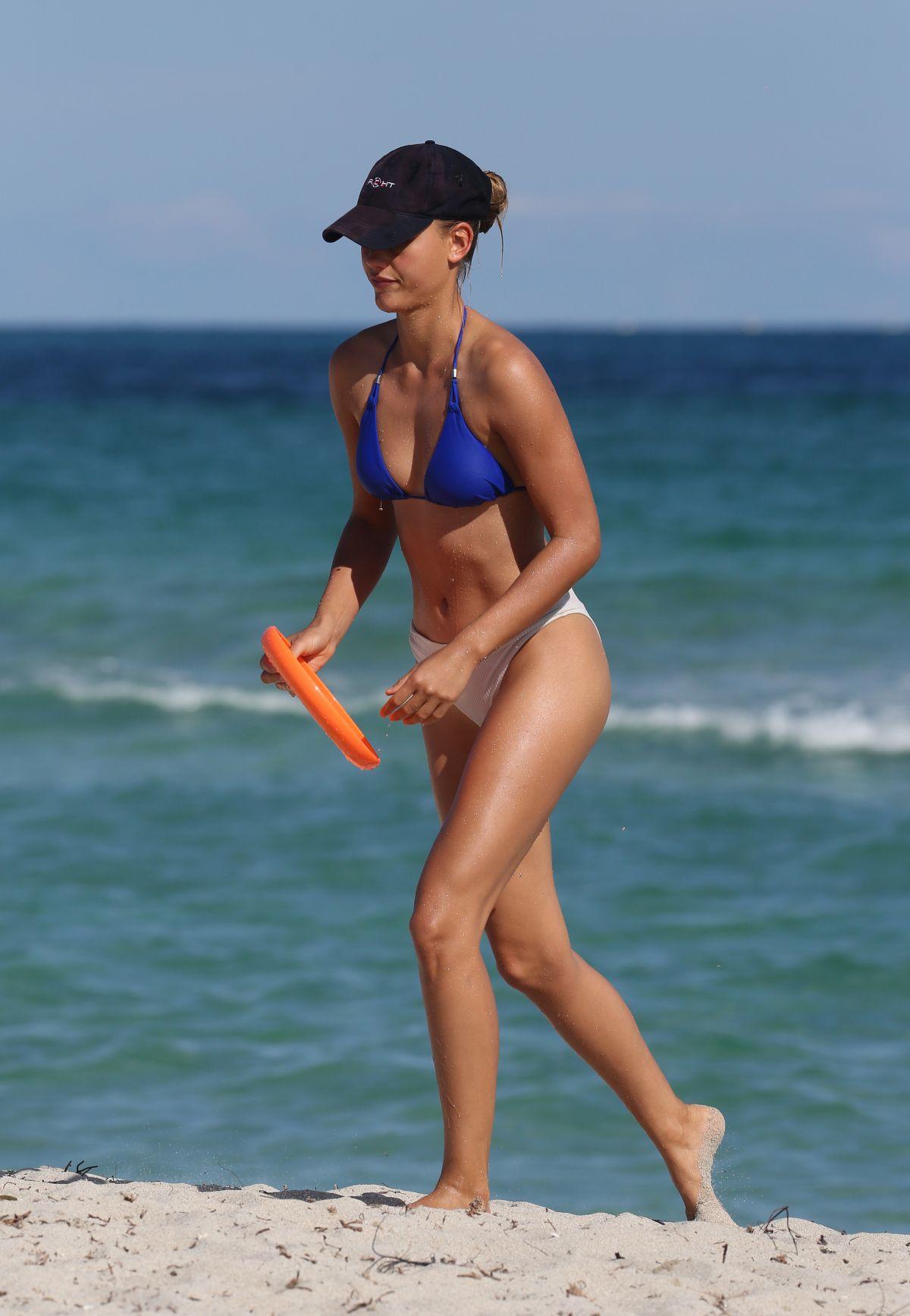 Chase Carter in Bikini at the beach in Miami Pic 2 of 35