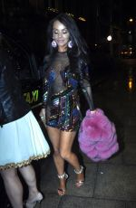 CHELSEA HEALEY Night Out in Manchester 12/22/2017