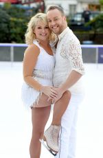 CHERYL BAKER at Dancing on Ice Photocall in London 12/19/2017