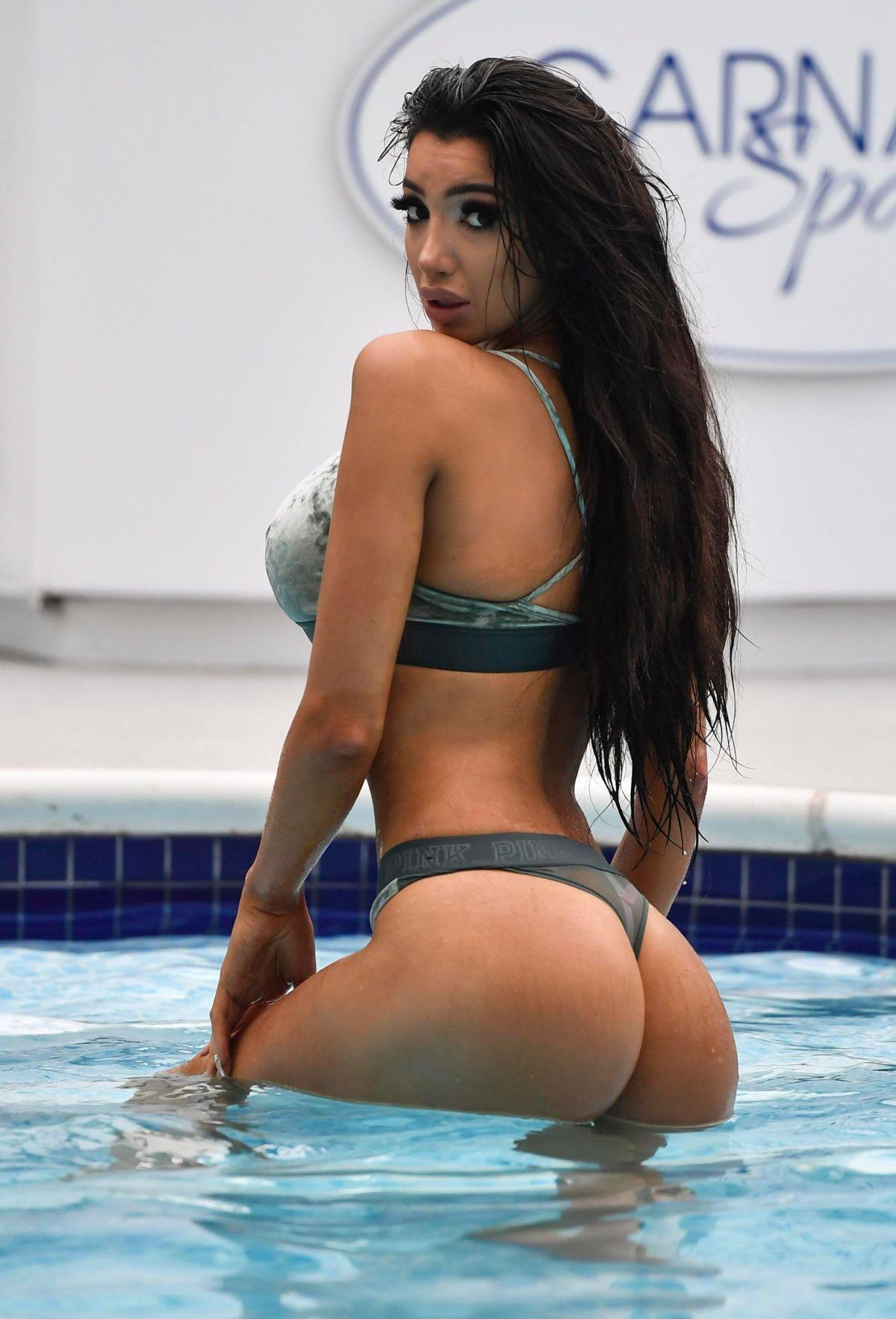 Chloe Khan in Bikini at Carnatic Spa in Liverpool Pic 1 of 35