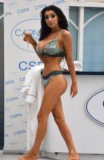 CHLOE KHAN in Bikini at Carnatic Spa in Liverpool 12/19/2017