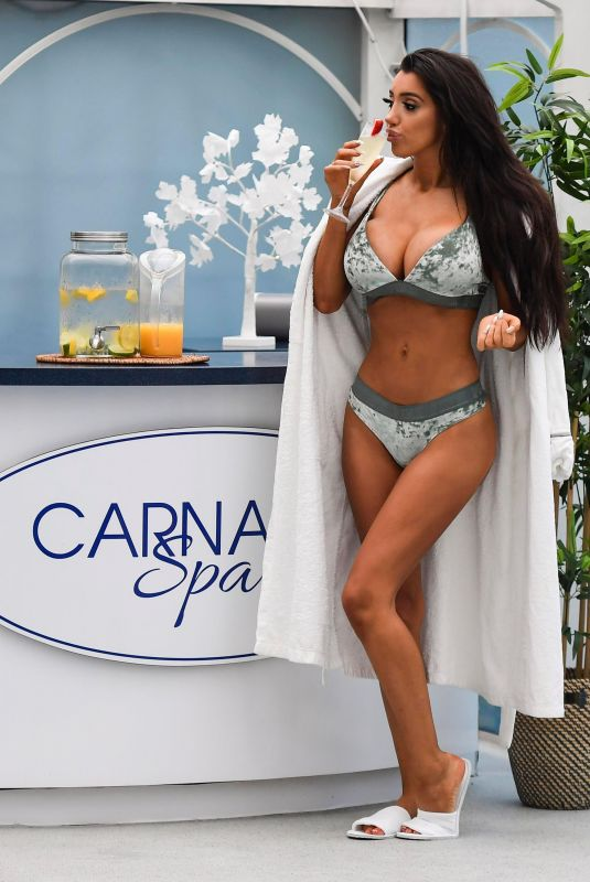 CHLOE KHAN in Bikini at Carnatic Spa in Liverpool 12/19/2017