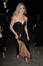 CHLOE LUKASIAK at Poppy Nightclub in West Hollywood 11/30/2017