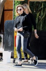 CHLOE MORETZ at Il Pastaio in Beverly Hills 12/07/2017