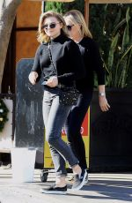 CHLOE MORETZ Out for Lunch at Il Pastaio in Beverly Hills 12/07/2017
