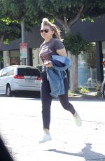 CHLOE MORETZ Out for Lunch in Los Angeles 12/04/2017