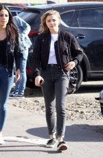 CHLOE MORETZ Out Shopping in West Hollywood 12/18/2017