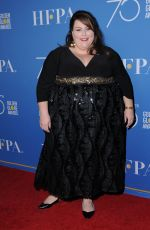 CHRISSY METZ at HFPA 75th Anniversary Celebration and NBC Golden Globe Special Screening in Hollywood 12/08/2017