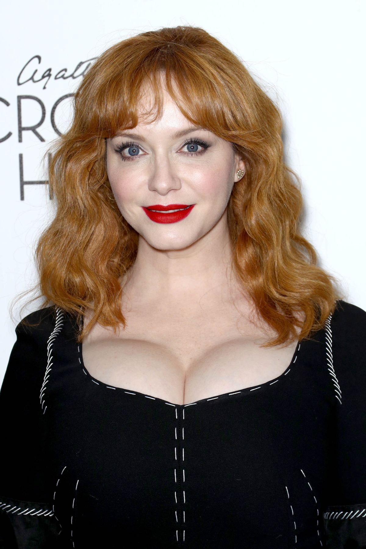 CHRISTINA HENDRICKS at Crooked House Premiere in New York ...