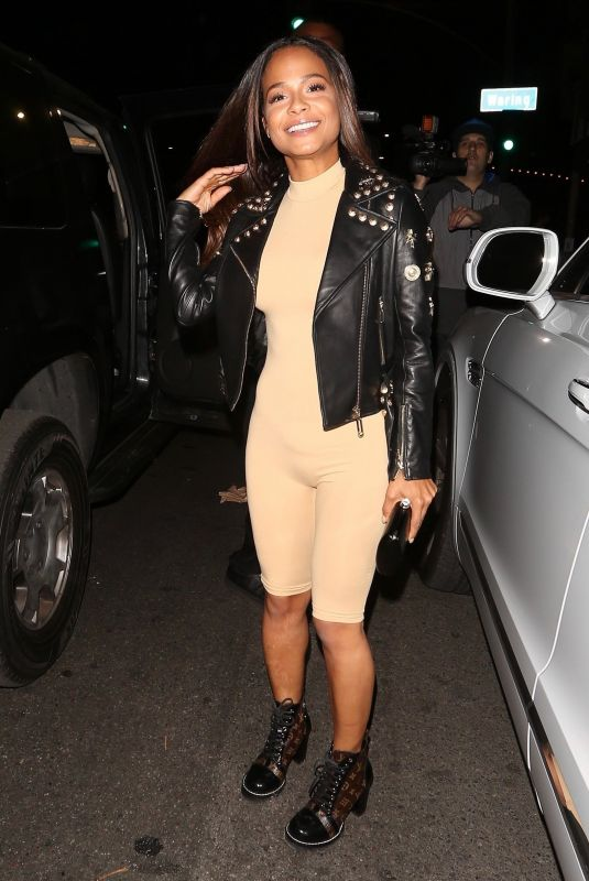 CHRISTINA MILIAN Night Out in West Hollywood 12/14/2017