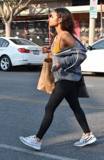 CHRISTINA MILIAN Out Shopping in Studio City 12/16/2017