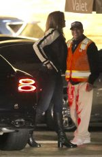 CINDY CRAWFORD and Rande Gerber Out for Dinner at Nobu in Malibu 12/26/2017