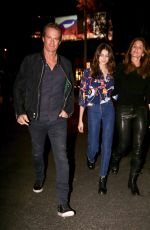 CINDY CRAWFORD, KAIA GERBER and Rande Gerber Out in West Hollywood 12/12/2017