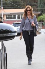CINDY CRAWFORD Out in Los Angeles 12/10/2017