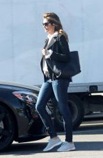 CINDY CRAWFORD Out Shopping in Los Angeles 12/21/2017