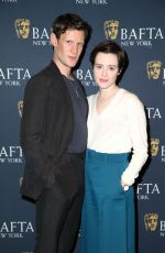 CLAIRE FOY at The Crown Bafta Screening in New York 12/03/2017