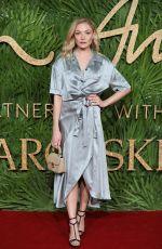 CLARA PAGET at British Fashion Awards 2017 in London 12/04/2017