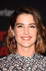 COBIE SMULDERS at Star Wars: The Last Jedi Premiere in Los Angeles 12/09/2017