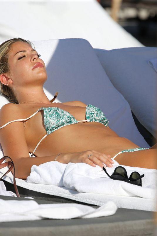 CONSTANCE CARACCIOLO in Bikini at a Beach in Miami 12/07/2017