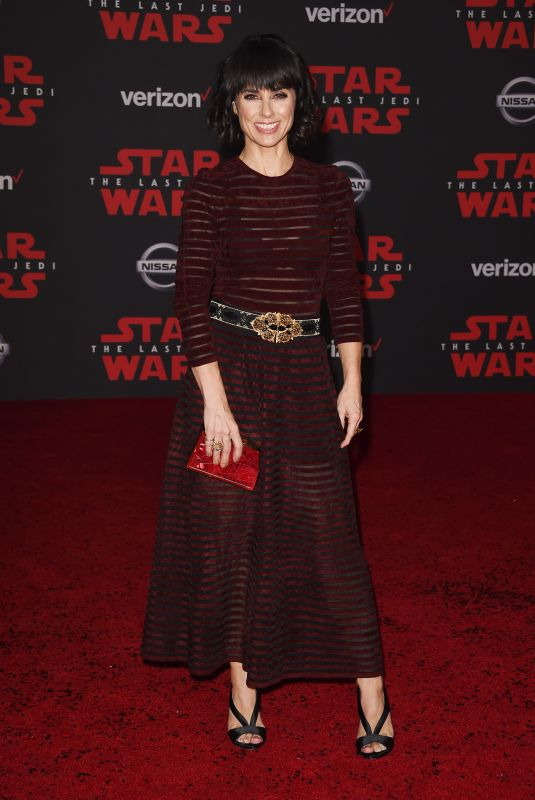 CONSTANCE ZIMMER at Star Wars: The Last Jedi Premiere in Los Angeles 12/09/2017