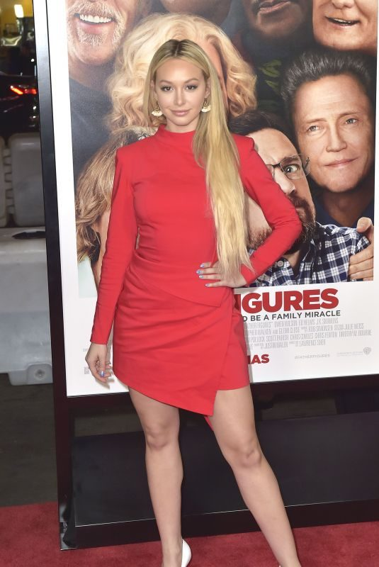 CORINNE OLYMPIOS at Father Figures Premiere in Hollywood 12/13/2017