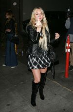 CORINNE OLYMPIOS Night Out in West Hollywood 12/16/2017