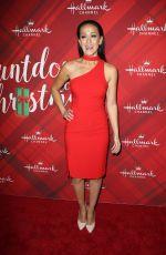CRYSTAL LOWE at Christmas at Holly Lodge Screening in Los Angeles 12/04/2017