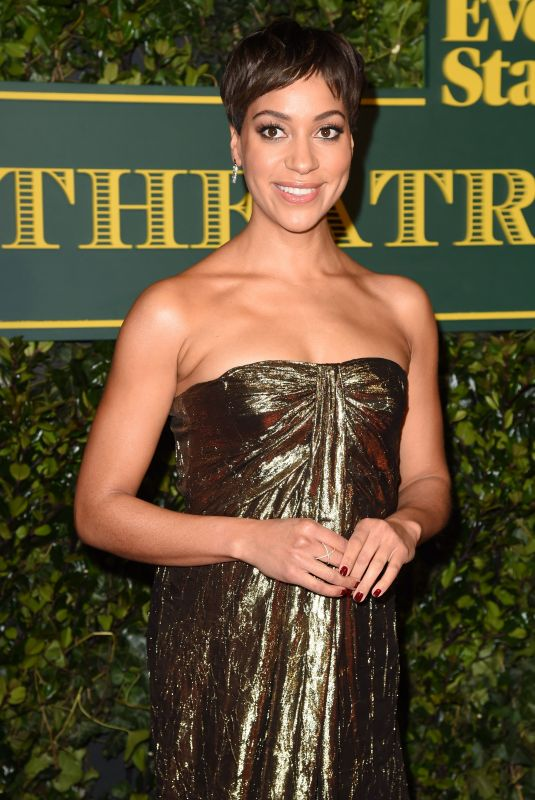 CUSH JUMBO at London Evening Standard Theatre Awards in London 12/03/2017