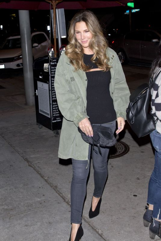 DAISY FUENTES at Craigs Restaurant in West Hollywood 12/03/2017