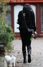DAISY LOWE Out and About in Primrose Hill 12/30/2017