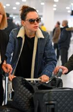 DAISY RIDLEY at Heathrow Airport in London 12/11/2017