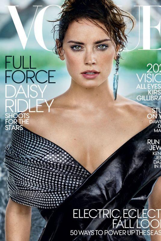 DAISY RIDLEY in Vogue Magazine, November 2017