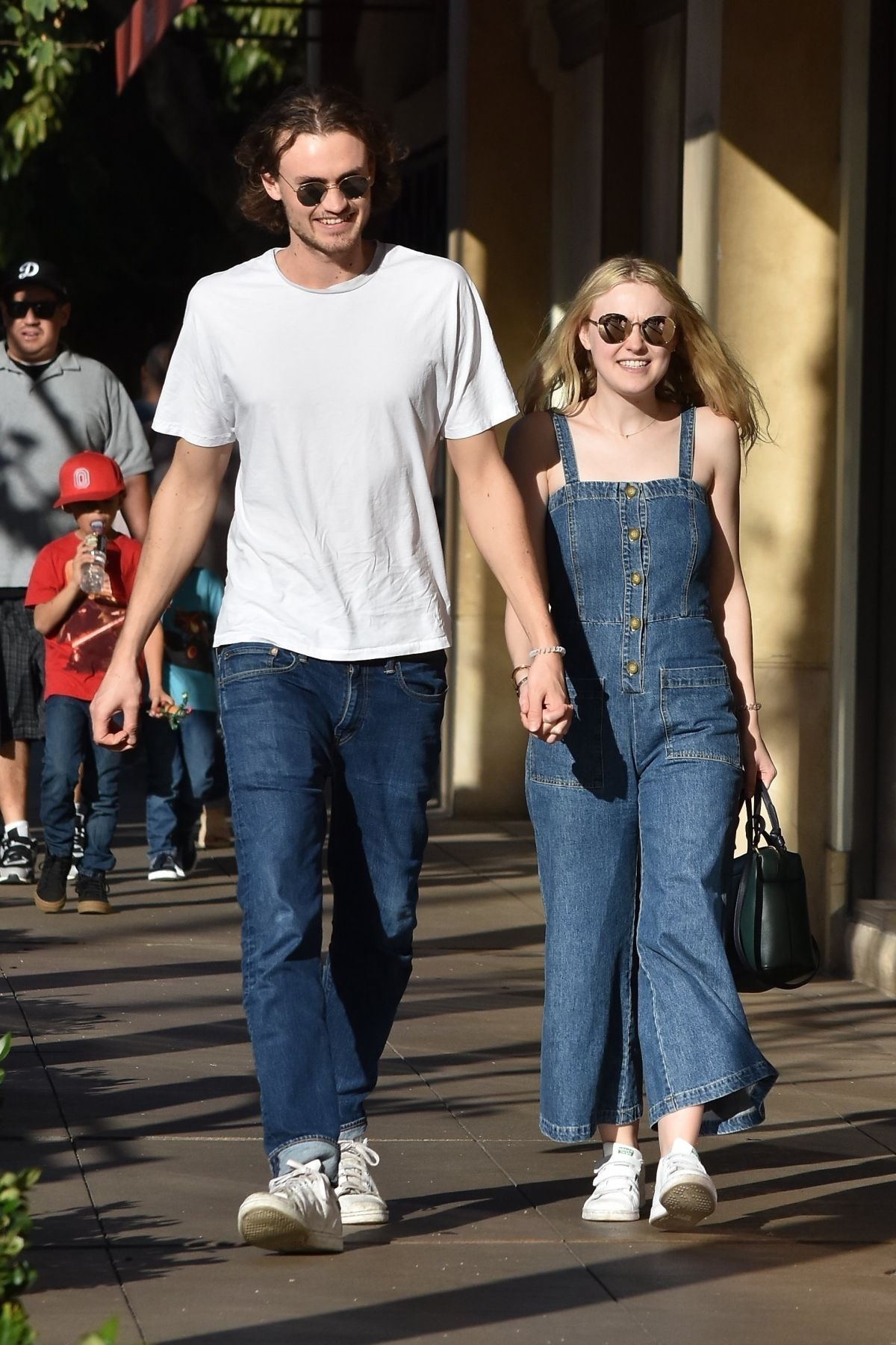 Dakota Fanning And Henry Frye Out In Los Angeles 12 28