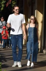DAKOTA FANNING and Henry Frye Out in Los Angeles 12/28/2017