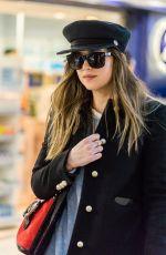 DAKOTA JOHNSON at Heathrow Airport in London 12/14/2017