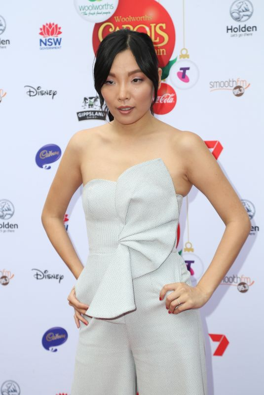 DAMI IM at Woolworths Carols in the Domain Pre-show VIP Party in Sydney 12/17/2017