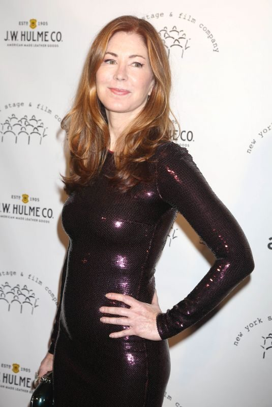 DANA DELANY at New York Stage and Film Winter Gala at Pier 60 in New York 12/05/2017