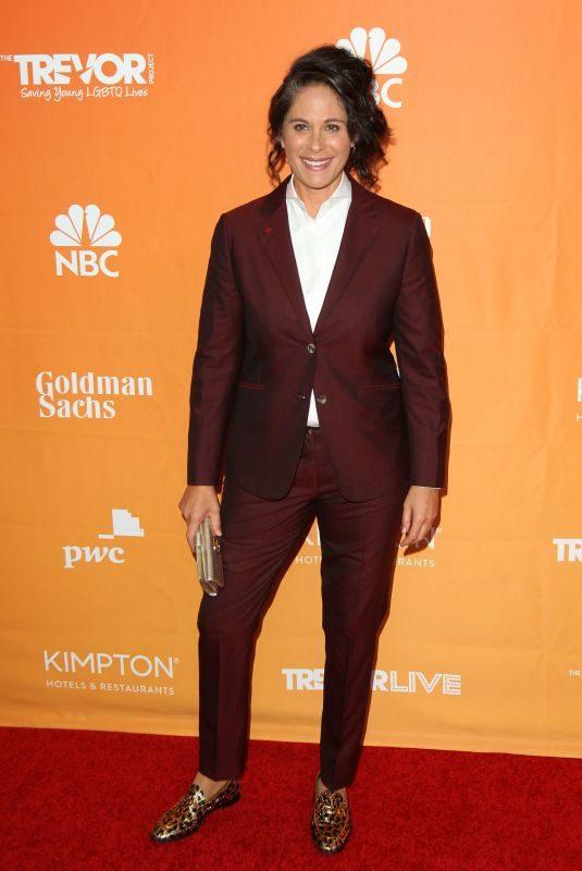 DANA GOLDBERG at Trevor Project's 2017 Trevorlive Gala in Los Angeles 12/03/2017
