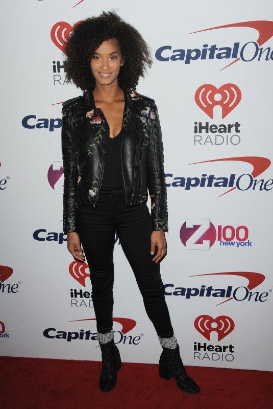 DANA TYNE at Z100 Jingle Ball in New York 12/08/2017