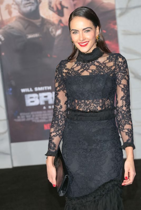 DANIELA BOTERO at Bright Premiere in Los Angeles 12/13/2017