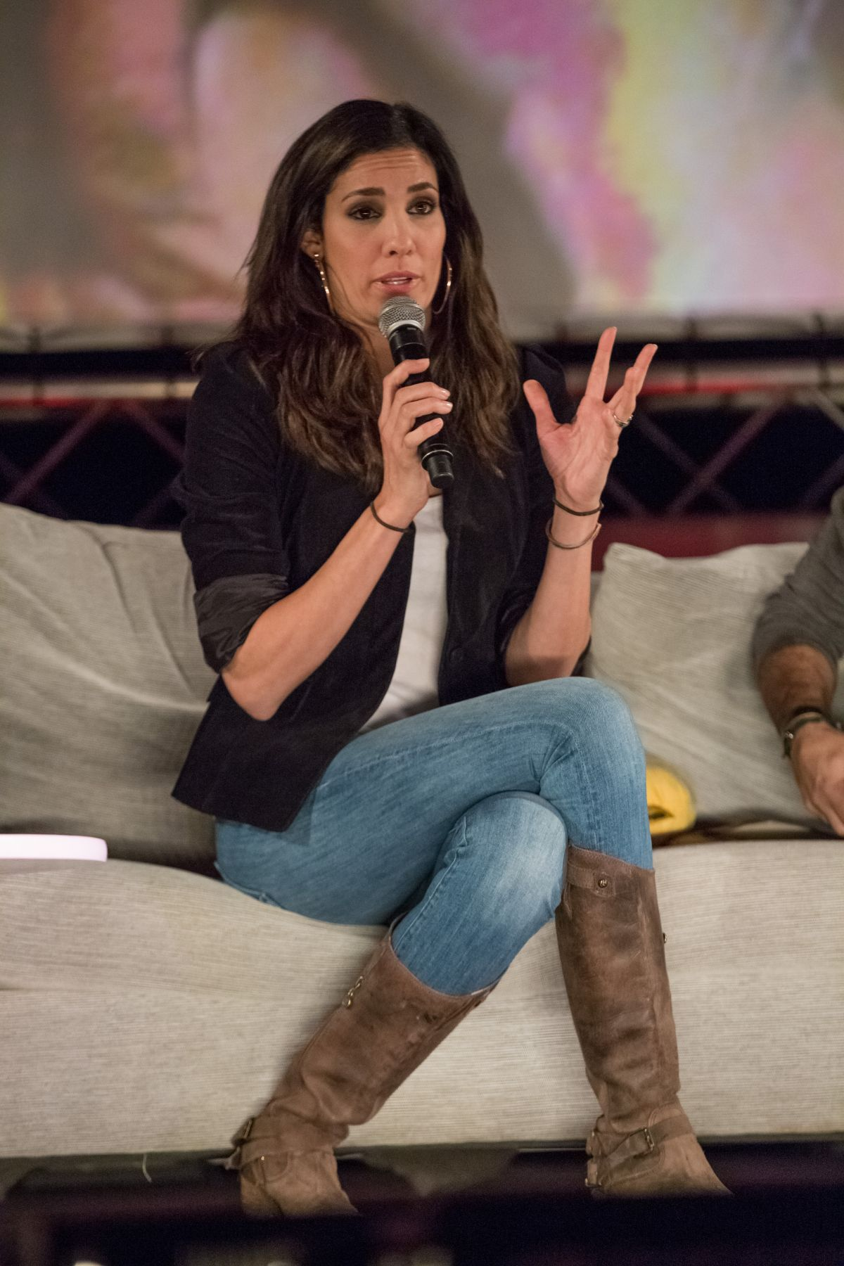 Daniela Ruah At Comic Con In Portugal