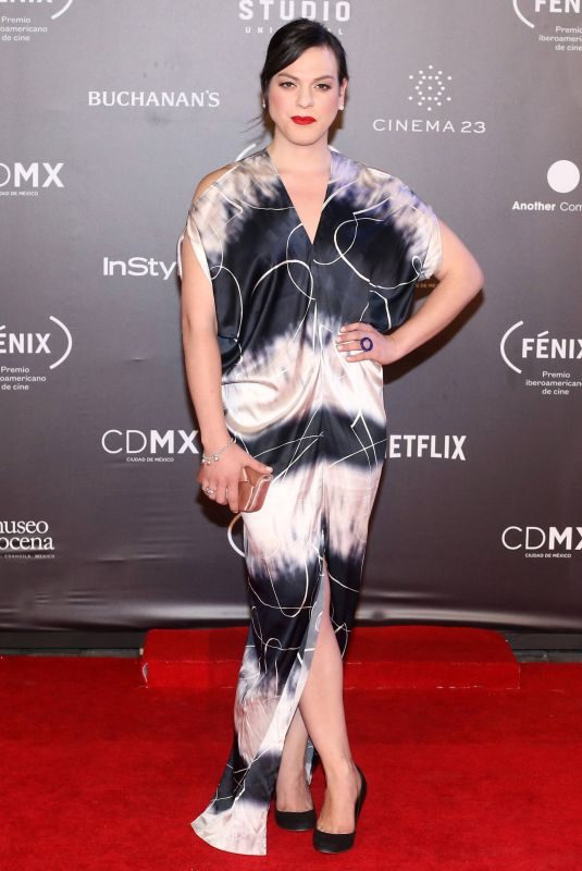 DANIELA VEGA at Fenix Film Awards in Mexico City 12/06/2017