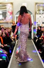 DANIELLE LLOYD at Miamor Boutique Charity Prom Fashion Show in Sutton Coldfield 12/29/2017