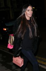 DANIELLE LLOYD Out and About in Sutton 12/30/2017