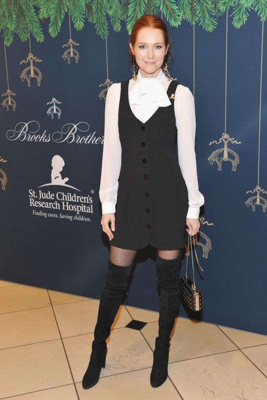 DARBY STANCHFIELD at Brooks Brothers Holiday Celebration with St Jude Children's Research Hospital in Beverly Hills 12/02/2017