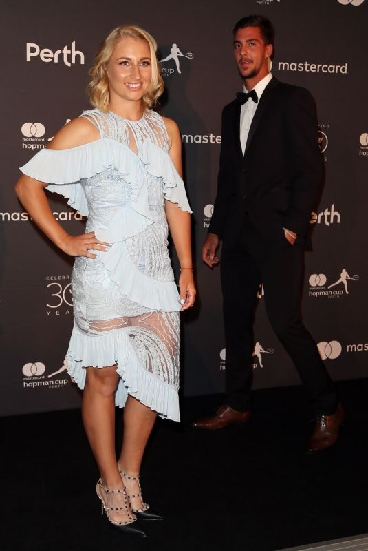 DARIA GAVRILOVA and Thanasi Kokkinakis at Hopman Cup New Years Eve Players Ball in Perth 12/31/2017